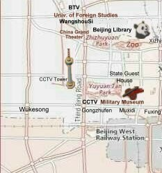 Check hotels in Beijing Haidian area (CCTV, Zoo, national library, military museum)