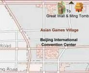 north area (Asia Games & Olympic village, convention center)