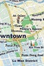 Check Hotels in Huaihai Road and People Square Area