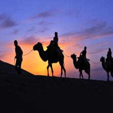 7 day silk road tour with Qinghai Lake, China