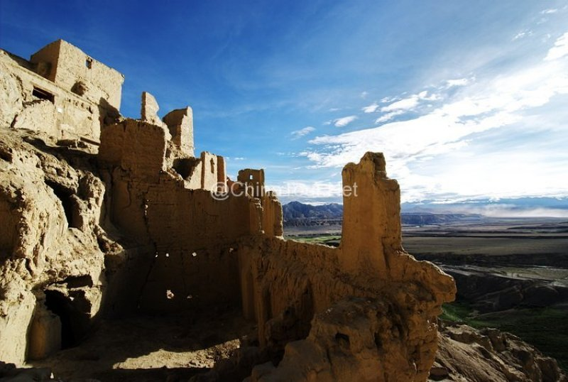 the ruin of guge kingdom