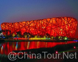 The National Stadium (Bird' Nest)-Top 10 Beijing Nightlife Attractions