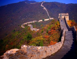 Great Wall in Autumn