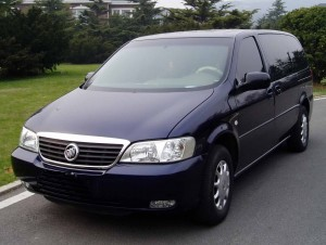 Buick Van, Beijing Car Rental