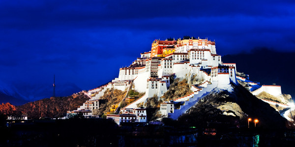 Potala Palace night