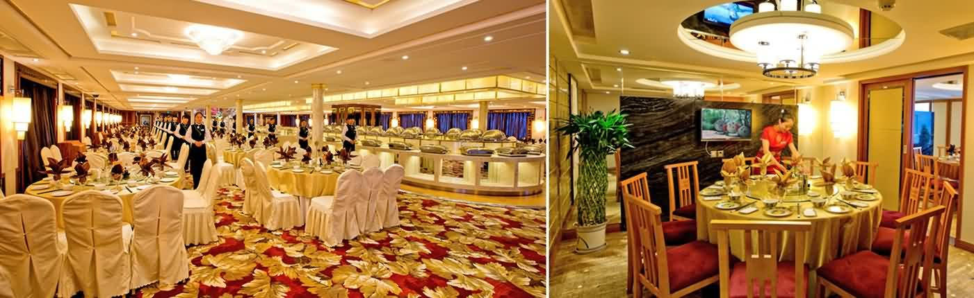 Dining Room of President Cruise