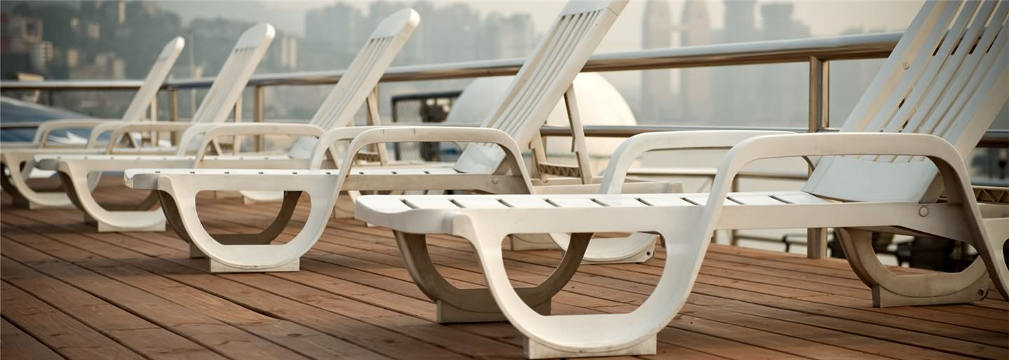 Sundeck of the Victoria Cruise