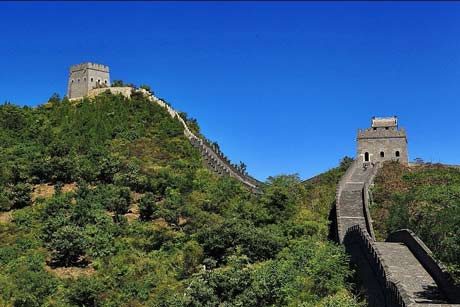 The nearest Great Wall from Tianjin, round trip transfer from Tianjin Cruise Port