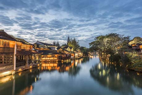 1 Day Wuzhen village Shanghai Tour